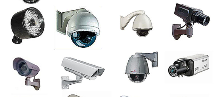 Different types of CCTV Camera