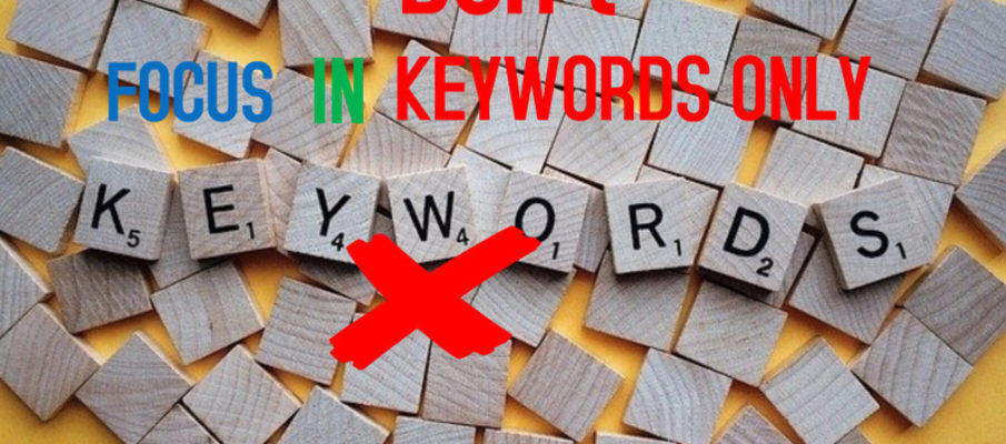 Not only keywords