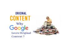 Original Content Google Loves